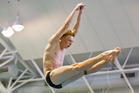 Liam Stone, who has been diving since he was 7, travels often to keep himself at the highest level. Photo / Greg Bowker