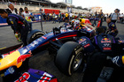 Red Bull's Daniel Ricciardo prepares to race in the Bahrain GP. Pictures / Getty Images