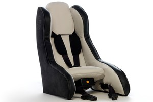 Volvo's inflatable car seat.