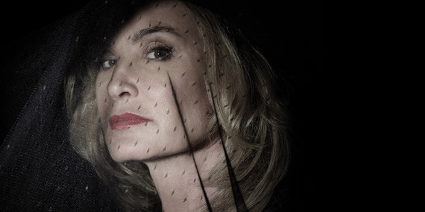 Jessica Lange is so far more comical than disturbing.