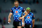 Simon Mannering of the Warriors leaves the field following the round 6 NRL match against the Bulldogs. Photo / Getty Images