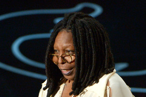 Whoopi has written of her love for the vaporized leaf. Photo / AP