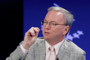 Google Executive Chairman Eric Schmidt is a well-known backer of President Barack Obama and advises the White House. Photo / AP