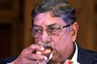 Narainswamy Srinivasan. Photo / AP