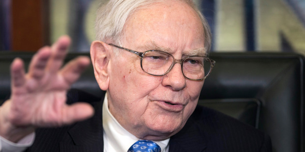 Berkshire Hathaway CEO and Chairman Warren Buffett. Photo / AP