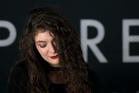 Lorde takes and gives away