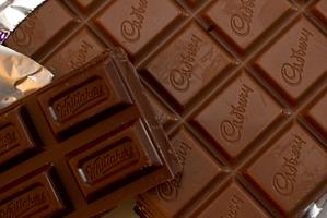 Cadbury and Whittaker's milk chocolate. New Zealand Herald Photograph by Brett Phibbs