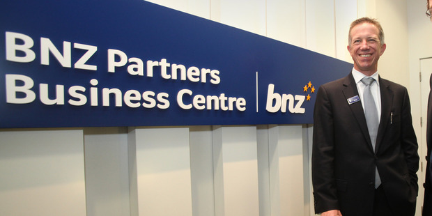 New BNZ chief executive Anthony Healy