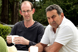 Joe Karam (right) worked to prove David Bain was innocent. Photo / Janna Dixon