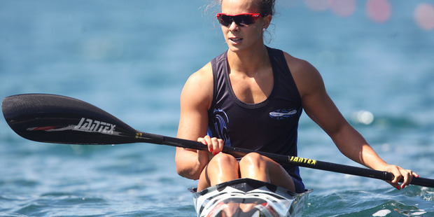 Lisa Carrington, the K1-200 world and Olympic champion, said the new high performance training centre would give canoe racing a boost. Photo / Daily Post