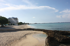 Seven Mile Beach on Grand Cayman Island. The US loses $150 billion in federal revenue annually when earnings are transferred to tax havens like the Cayman Islands.
