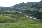 DRY LAND: The site of the proposed Ruataniwha dam in Central Hawke's Bay.