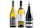 Stoneleigh Latitude Marlborough Sauvignon Blanc 2013; Gladstone Vineyard Pinot Gris 2013; Mud House N Block Central Otago Pinot Noir 2010. Photos / Supplied.