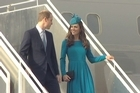 Did Prince William drop a hint that Prince George may soon have a brother or sister? The Royals have arrived in Dunedin continuing the Royal tour, but yesterday the Duke and Duchess of Cambridge met Cynthia Read, who made the fine lace shawl that was New Zealand's gift to George on his birth, during their visit to the New Zealand town of Cambridge on Saturday.