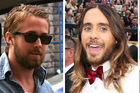 Hollywood hunks Ryan Gosling, Jared Leto and Bradley Cooper realise the allure of sexy facial hair. Photo / AP