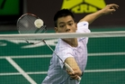 Top seed Hsu Yen Hao from Taiwan highlights a quality field at the New Zealand Badminton Open. Photo / Brett Phibbs