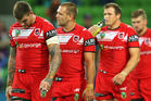 The Dragons demanded two competition points following their controversial loss to the Storm. Photo / Getty Images