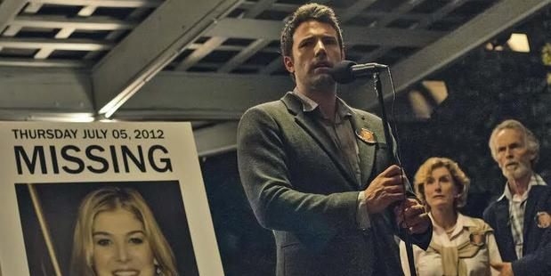 Ben Affleck in a scene from his new movie, Gone Girl.