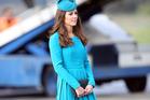 Catherine, Duchess of Cambridge walks across the tarmac at Dunedin International Airport. Photo / Getty
