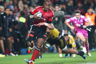 Nemani Nadolo's sheer bulk must been causing some sleepless night's for opposition backlines. Photo / Getty