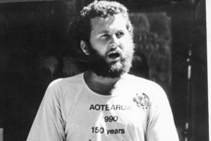 Activist Shane Jones in 1990. Photo / APN