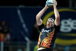 Chiefs lock Brodie Retallick will be key against the Brumbies' tall timber tonight in Canberra. Photo / Getty Images