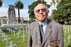 Napier Returned Services Association president John Purcell at Memorial Square where the dawn parade will be staged for the first time on Anzac Day. Photo/Warren Buckland