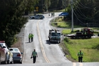 The young mum was killed on the Coatesville-Riverhead Highway on Monday morning. Photo / Richard Robinson