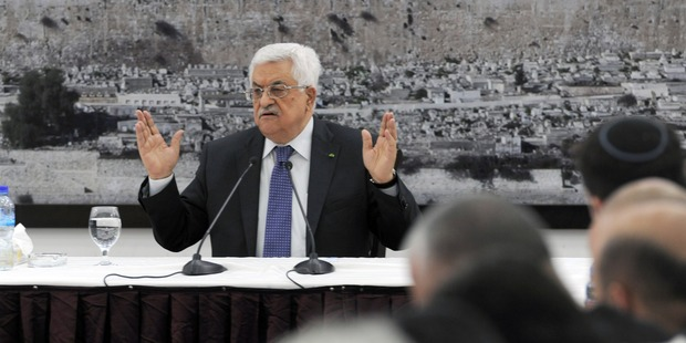 Palestinian President Mahmoud Abbas. Photo / Getty Images