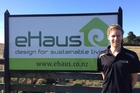 Cyril Vibert, a French student, is three weeks into a six-month internship with Wanganui building firm EcoBuild Developments.