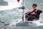 Thomas Saunders is one of several Tauranga sailors in medal contention at the ISAF Sailing World Cup in Hyeres, France. Photo / File