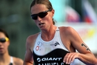 Triathlete Nicky Samuels missed the original selection but remains team relay reserve. Photo / Getty Images