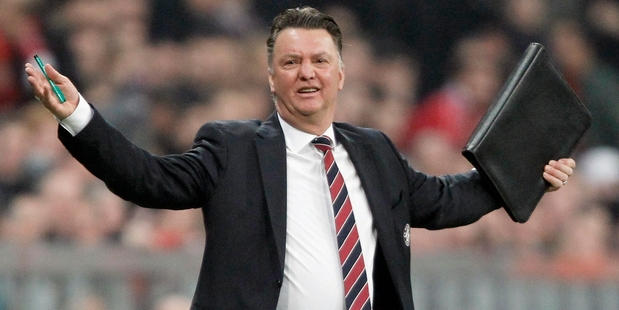 Louis van Gaal has always been van Gaal's greatest fan. Photo / AP