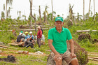 Crispin Miranda, project manager of the Cabuynan Farmers Association, says about 90 per cent of the local coconut farmers' trees were wiped out in last November's typhoon. Photo / Oxfam