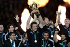 The moment Richie McCaw lifted the World Cup in 2011, New Zealand Rugby's finances started to soar. Photo / Brett Phibbs
