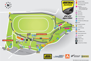 ITM 500 Auckland map. Photo / Supplied