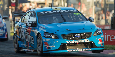 Scott McLaughlin of Valvoline Racing GRM during the Clipsal 500 this year.