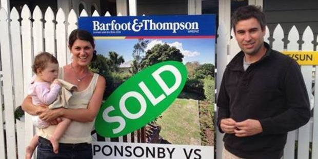 Lindy and Callum Malcolm, along with daughter Addison, are ready to move on after selling their Bond St property for $835,000.