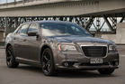 Chrysler's 300S keeps the bling of the SRT8, but its smaller engine gives benefits at the petrol pump. Pictures/Ted Baghurst