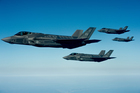 Joint Strike Fighters. Photo / US Air Force