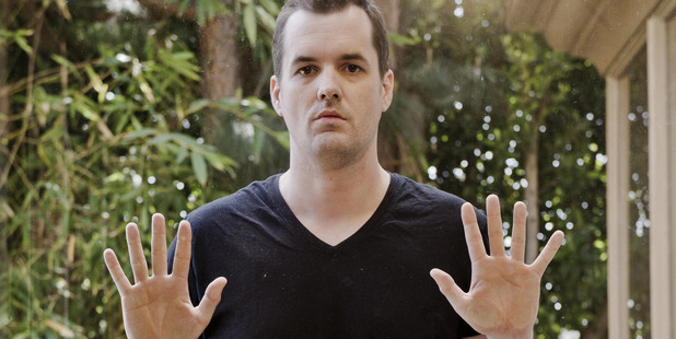 Jim Jefferies says the darker the topic, the better the jokes needs to be.