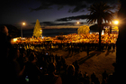 Lawrence Morrow has piped at most Anzac services in Tauranga. Photo / George Novak