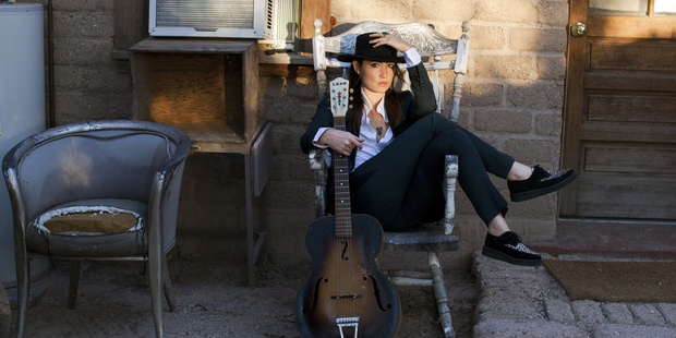 KT Tunstall says she finds solo touring empowering. She plays The Studio in Auckland on May 3.