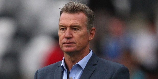John Kirwan has a 40 per cent win record with the Blues. Photo / Getty Images