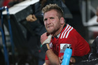 The bye comes at a good time for the Crusaders, who lost skipper Kieran Read to a failed concussion test in the first half. Photo / Getty Images