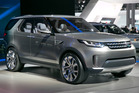 The 2015 Land Rover Discovery Vision Concept is introduced during the 2014 New York International Auto Show.Photo / AP