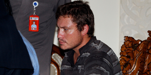 Matt Lockley was removed from the plane. Photo / AP
