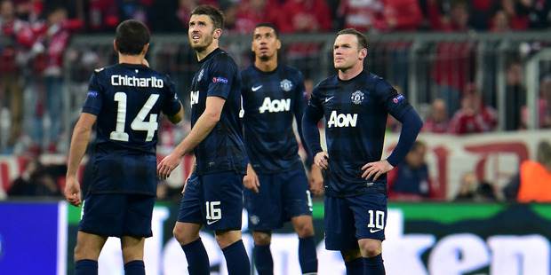 Manchester United has had its worst season since 1992. Photo / AP