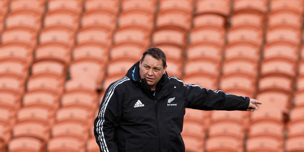 Coach Steve Hansen is out of touch in how to deal with the rising generations, writes Rattue. Photo / Christine Cornege