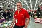 The Warehouse chief executive Mark Powell. Photo / Brett Phibbs